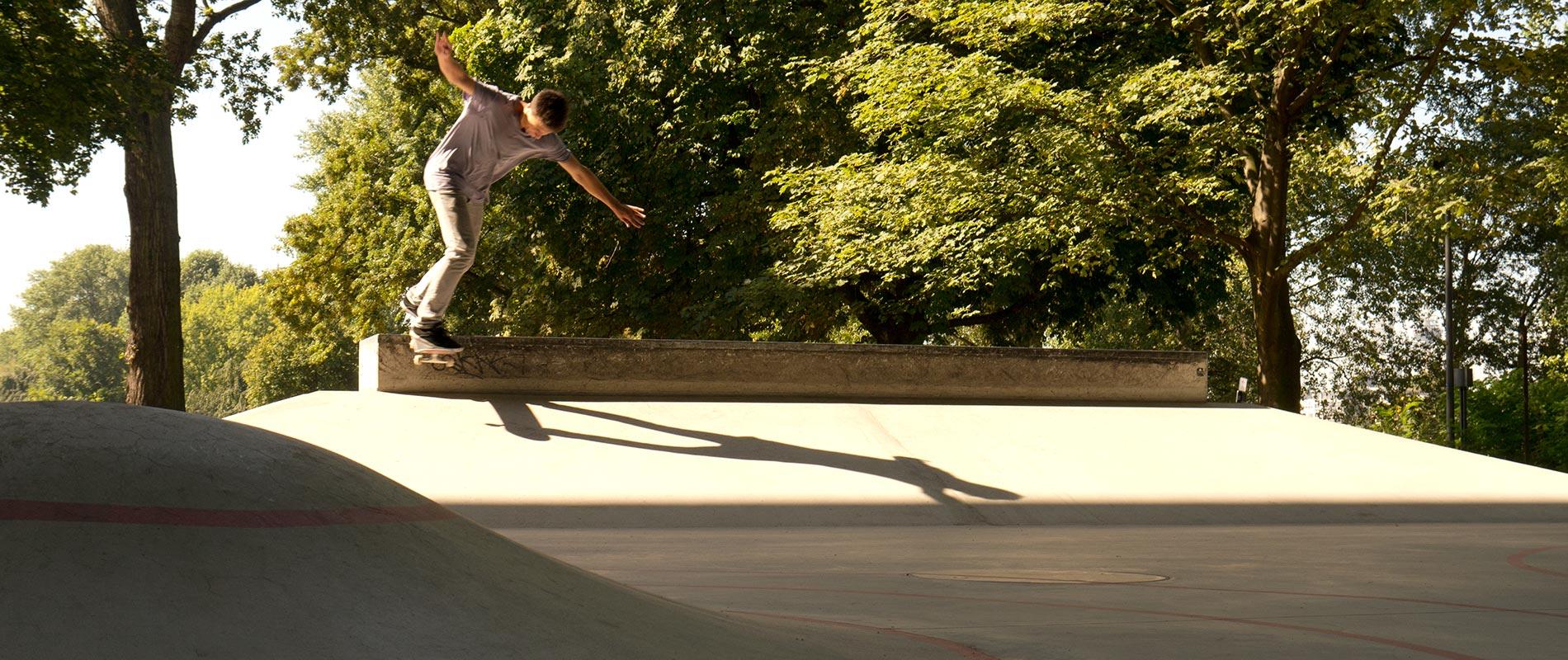 X-Move Skateanlagen Skateparks aus Ortbeton und Fertigteilen - Planung Umsetzung und Bau