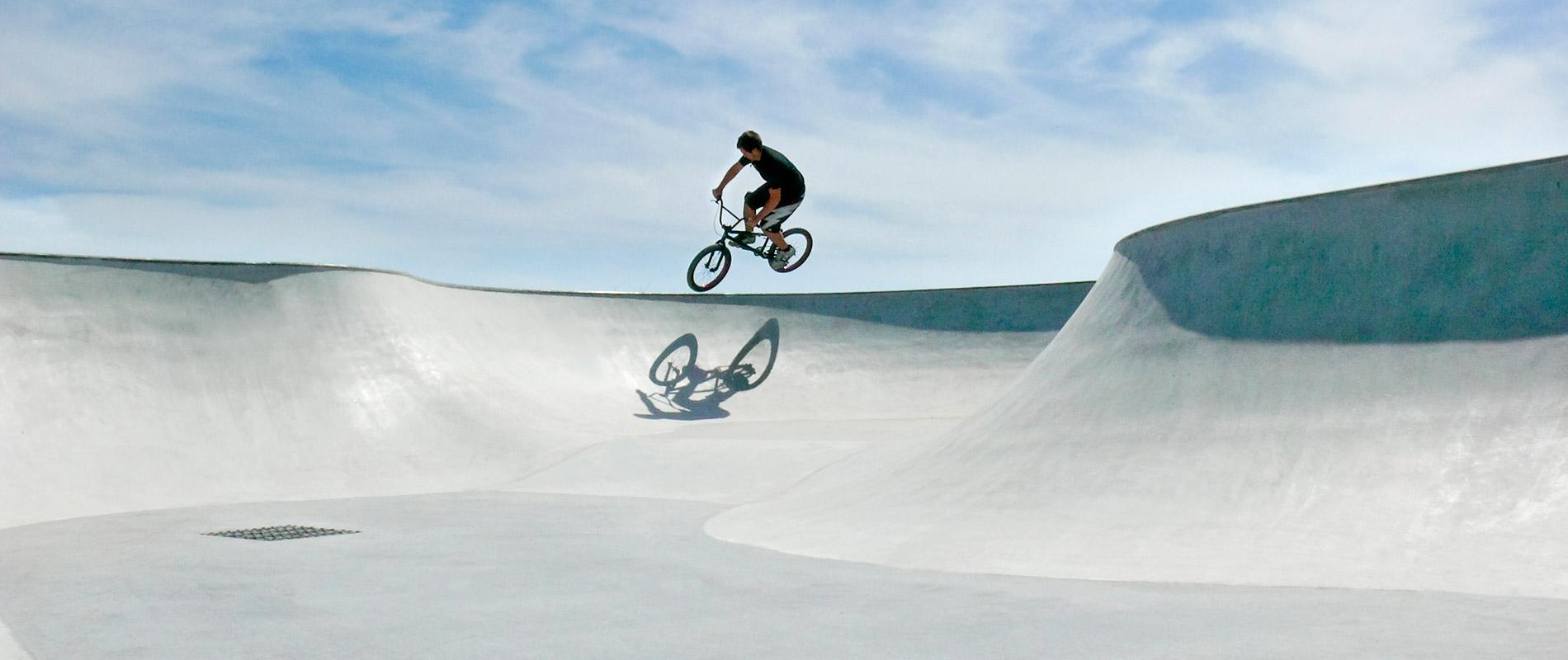 X-Move Skateanlagen Skateparks aus Ortbeton und Fertigteilen Great Yarmouth - Planung Umsetzung und Bau