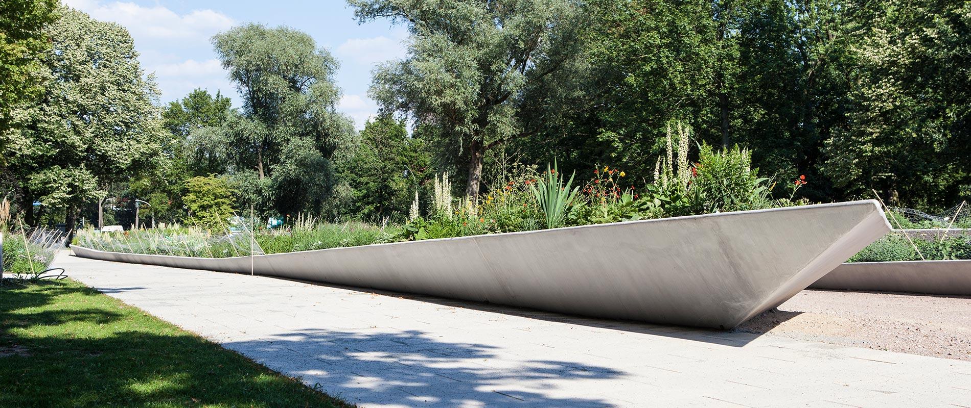 X-Move Kunst und Freizeitanlagen, künstlerisch gestalteter Beton