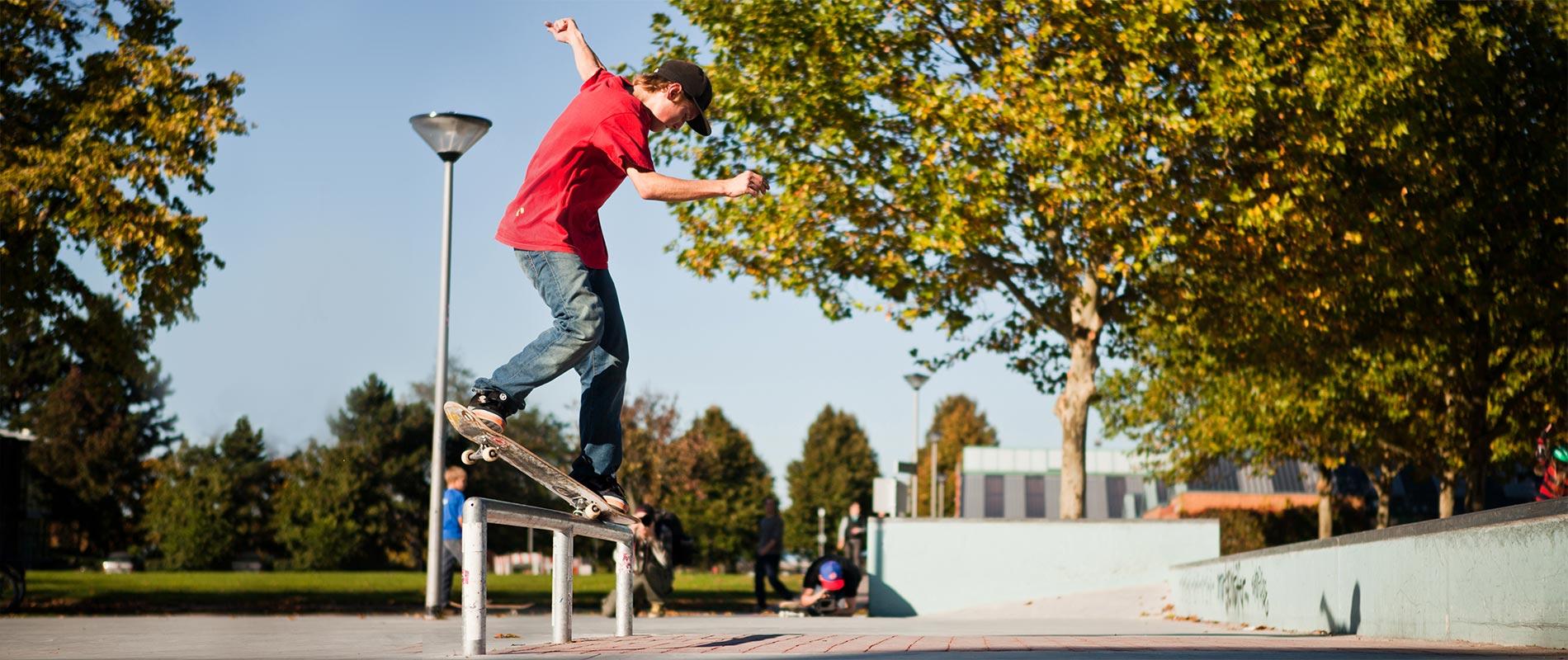 X-MOVE Skateparks und Skateanlagen aus Spritzbeton, Fertigteilen und Architekturbeton.