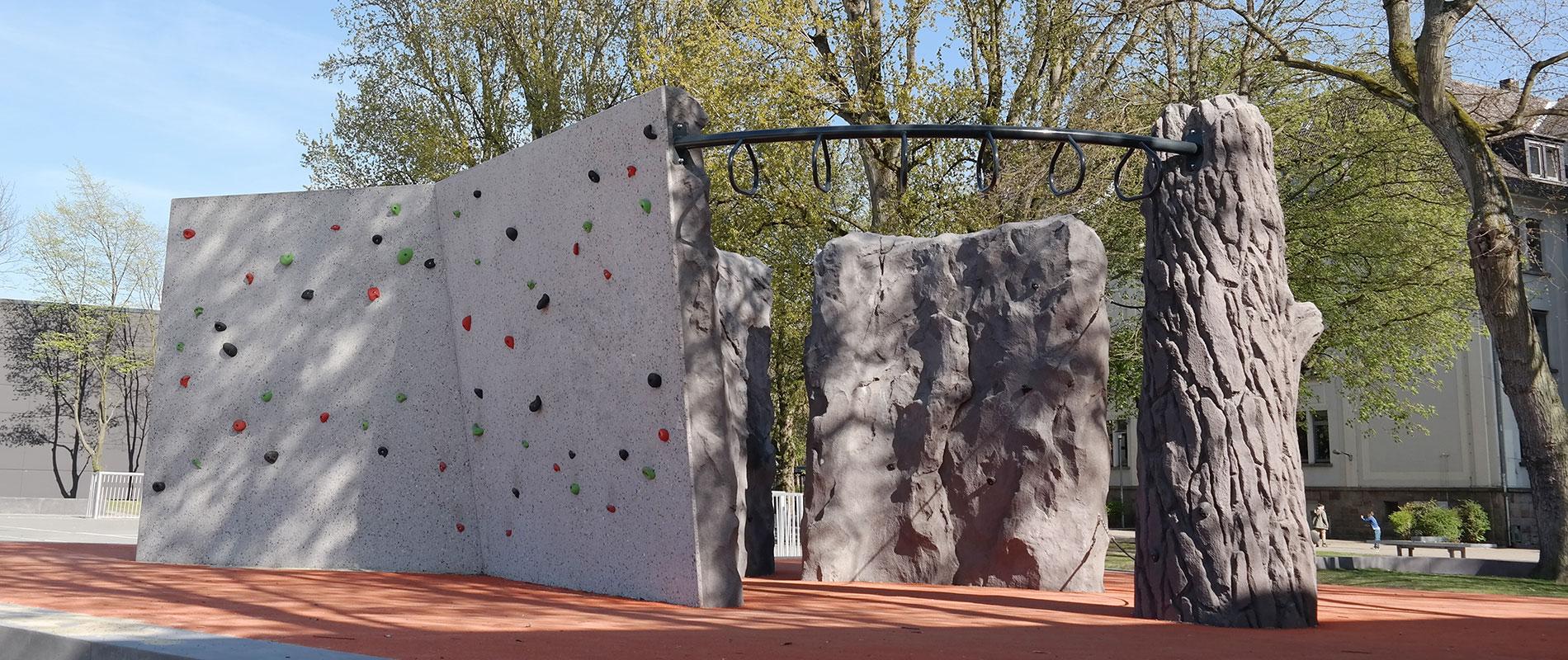 X-Move Kletteranlagen, Kletterfelsen, Boulderfelsen, Sportklettern Dortmund - Planung und Umsetzung